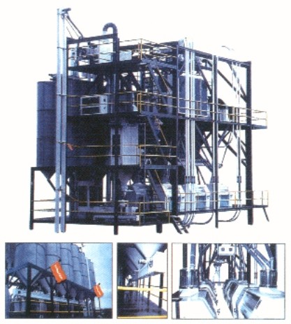 flour mill with 80 t capacity