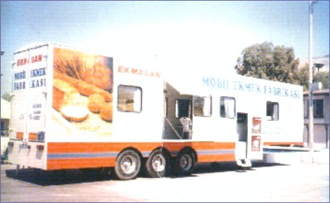 mobile bread factory